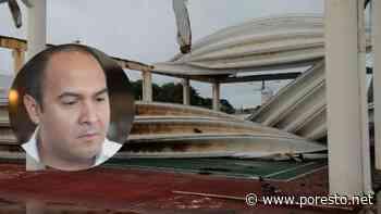Juan Carrillo, Alcalde de Isla Mujeres, deja deterioro en edificios públicos - PorEsto