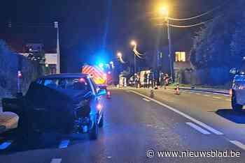 Man levensgevaarlijk gewond na ongeval