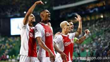 Haller nets four as Ajax hammer Sporting CP