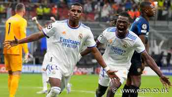 After Courtois' heroics, subs Rodrygo, Camavinga seal Real Madrid win