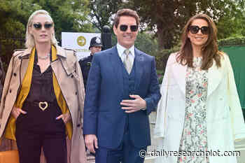 Tom Cruise watches Wimbledon with Hayley Atwell - Daily Research Plot - Daily Research Plot