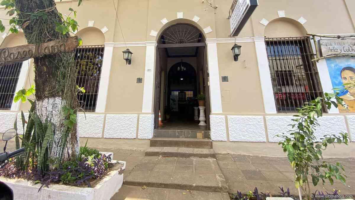 Casa Cultural volvió a abrir sus puertas al público en Villarrica - ÚltimaHora.com