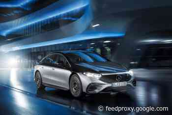 Mercedes EQS EV now available in the UK for £99,995