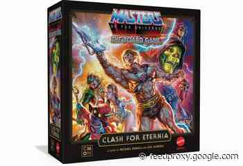 CMON Masters of the Universe board game