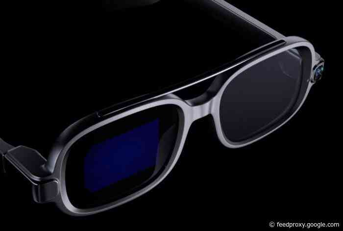 Xiaomi Smart Glasses with AR microLED display technology