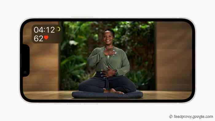 Apple Fitness+ gets guided Meditation and more