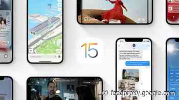 iOS 15 and iPadOS 15 are coming on the 20th of September