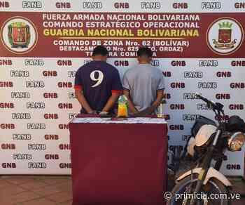 Con un paquete de marihuana capturan a dos muchachos en Upata - primicia.com.ve