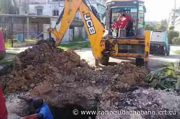 Incrementan acciones de recursos hidráulicos en barrios de La Habana - icrt.cu