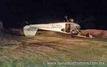 Cae avioneta en zona desértica de San Felipe - La Voz de la Frontera