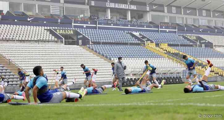 """""""En casa"""": Alianza Lima entrenó esta mañana en el estadio Alejandro Villanueva - Diario Depor"""