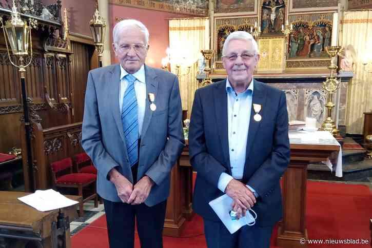 Gouden Sint-Bavo-ereteken voor veteranen van de kerkfabriek