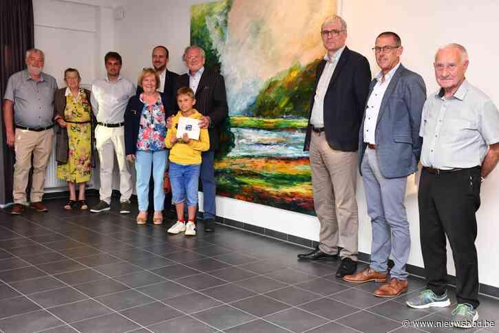 Marc De Geeter schenkt kunstwerk aan Sociaal Huis