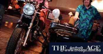 """From the Archives, 1998: TV's """"Two Fat Ladies"""" draw a crowd in Melbourne"""