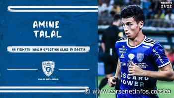 Football : Amine Talal (Orléans) signe 2 ans au SC Bastia - Corse Net Infos