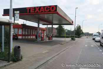 Staking bij Texaco-tankstations