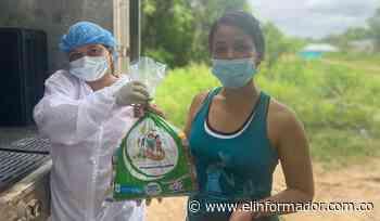 En Santa Ana, adelantan entrega de kits del PAE - El Informador - Santa Marta