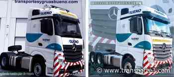 Transportes y Grúas Bueno renueva su flota con Mercedes-Benz - Revista Transporte3 Online