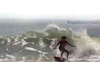 At Mamallapuram's first edition of Mahabs Open local surfers conquer the waves - The Hindu