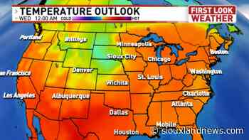Heat waves and cool downs are both in the forecast - Siouxland News