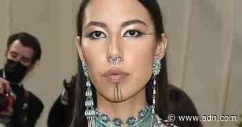 Alaska activist and model Quannah Chasinghorse makes waves at Met Gala and New York Fashion Week - Anchorage Daily News