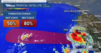 Nicholas makes landfall as hurricane; 2 tropical waves could develop this week - WPTV.com