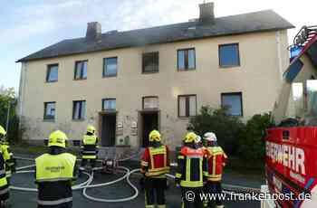 Selbitz - Feuer in Selbitzer Mehrfamilienhaus - Frankenpost