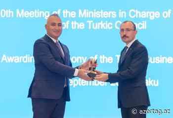 Consejo Túrquico ha entregado el Premio a la Inversión a SOCAR Turquía - AZERTAC Espanol