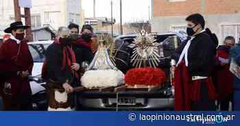 De Salta a Santa Cruz, un fervor que atraviesa el país: devotos de Río Gallegos celebraron al Señor y a la virgen del Milagro - La Opinión Austral