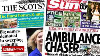 Scotland's papers: Yousaf 999 advice 'fury' and PM's 'ruthless cull'