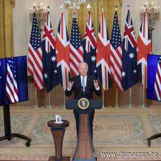 VS, VK en Australië sluiten groot veiligheidspact: China spreekt van 'Koude Oorlog-mentaliteit'