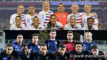 La Federación de Estados Unidos propone igualdad salarial entre la selección masculina y femenina - MARCA.com