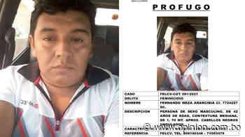 Policía divulga la fotografía del autor del doble feminicidio en Santa Cruz - Opinión Bolivia