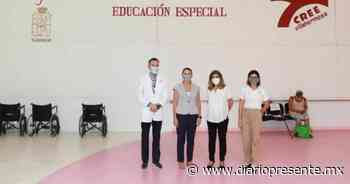 Supervisa presidenta del Sistema DIF Tabasco, Guadalupe Castro, funcionamiento del CREE - Diario Presente