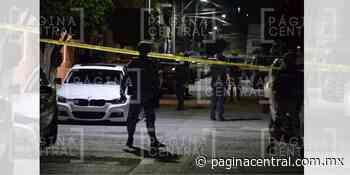 Ejecutan a hombre en el Fraccionamiento Guadalupe - Página Central