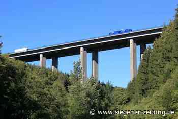 Statische Defizite: Der Talbrücke Büschergrund geht es an den Kragen - Siegener Zeitung