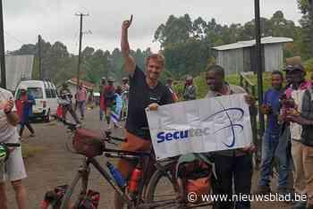 Strava Challenge geslaagd: Jelle Veyt zal Dendermondse vlag planten boven op Kilimanjaro<BR />