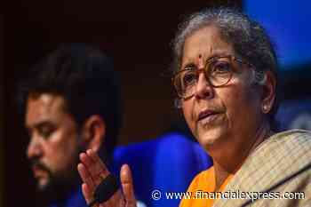 Nirmala Sitharaman LIVE: Finance Minister announces Rs 30,600 crore govt guarantee for Bad Bank