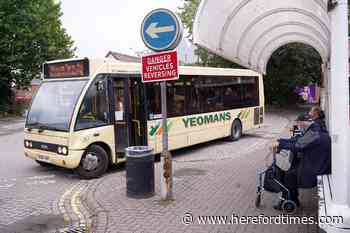 """Withdrawal of Hereford bus service leaves residents """"disgusted"""""""