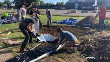EcoSuperior rain garden in Thunder Bay to help reduce water flowing to city storm sewer