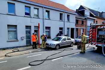 Brand in berging snel onder controle