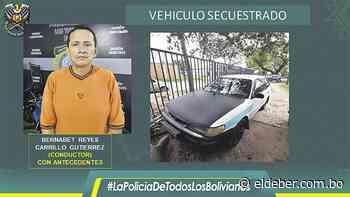 Capturan a clan familiar que se dedicaba al robo en Santa Cruz - EL DEBER
