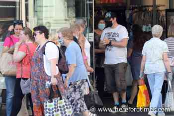 Population of Herefordshire on the rise