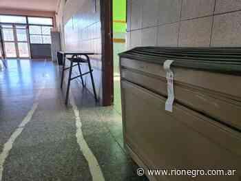 Se suspendieron las clases en una escuela de Cutral Co por una pérdida de gas - Diario Río Negro