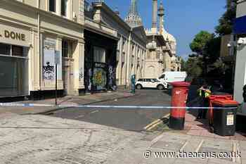 Teenagers arrested after Brighton city centre attack leaves man with serious head injuries