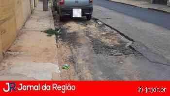 Leitor reclama dos buracos na rua Santa Maria - JORNAL DA REGIÃO - JUNDIAÍ