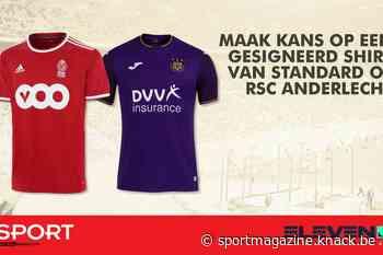 WIN een gesigneerd shirt van Standard of RSC Anderlecht - Sportmagazine Voetbal