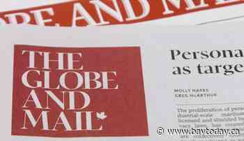 Globe and Mail newspaper and union representing 250 employees reach tentative deal