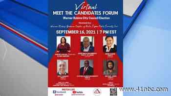Delta Sigma Theta hosting virtual meet the candidates forum in Warner Robins - 41 NBC News