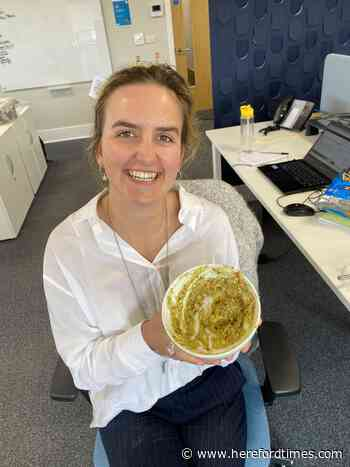 National guacamole day with the Hereford Times team